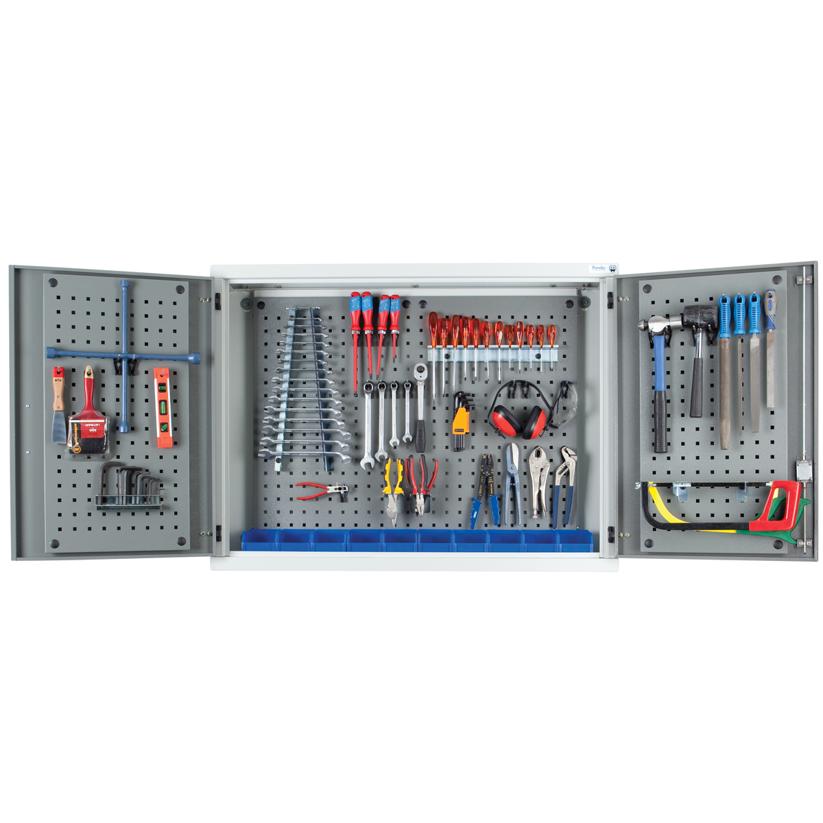 Tool Storage Cabinets-WMTC-DIY - Wall Mounted Tool Cabinets Pandae Workshop