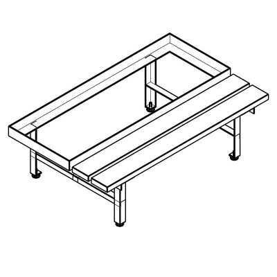 General Products-Double Door Mine Locker-Single Bench Locker