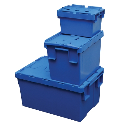 General Products-Securi Bin-Blue