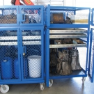 General Purpose Trolleys-Heavy Duty Stripping Cage-3