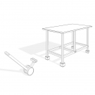 Workbench-workbench with pully